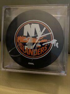 John Tavares New York Islanders Signed Auto Puck