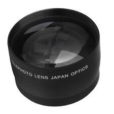 52mm 2x Telephoto Lens Teleconverter for Nikon D700 AF-S DX Nikkor 18-55mm w/Bag
