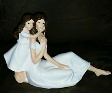 Mother / Daughter Resin Figurine