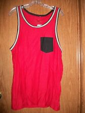 NWT COMPANY EIGHTY ONE RED,BLACK,GRAY, POCKET TANK Size LARGE Retails $26.00