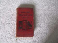 guide michelin 1930