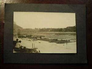 FOTO-AK - AUSSIG a. E - sportliche Großveranstaltung - 30-er Jahre (Privatfoto)
