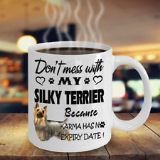 Silky Terrier dog,Silky,Australian SilkyTerrier,SilkyTerrier s Dog,Cup,Coffee Mug