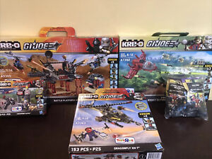 GI JOE KRE-O TRU Exclusive Lot Of 4 Sealed Box Dragonfly Complete Series 5 Figs+