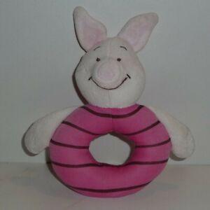 Doudou  Hochet Cochon Disney - Porcinet