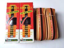 *Rare NOS Vintage VITTORIA 'OPEN CORSA CXTT' 700 x 19C timetrial clincher tyres*