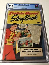 Captain Marvel Adventures Story Book 1 Cgc 7.0 White Pages!!!!