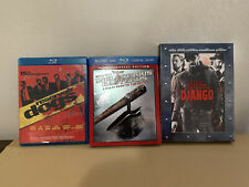 Tarantino Blu Ray Lot Inglorious Basterds, Django, Reservoir Dogs