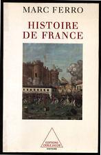 MARC FERRO, HISTOIRE DE FRANCE