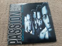 PASSION SHARE YOUR LOVE(DIGGITY REMIXES) 1996 ORIGINAL MAXI-CD SINGLE UK RELEASE