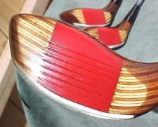 OVERSIZE Ping EYE 2 Golf Clubs set Walnut Wood Stain Driver 3 5 w New Tour Grips