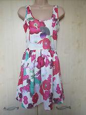 Polyester Floral Sleeveless Zara Dresses for Women