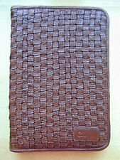 Cole Haan Woven Brown Leather Kindle Cover
