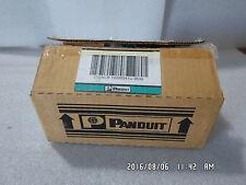 BOX OF 10-PCS PANDUIT PAN-NET CFPL4IWY MINI-COM FACEPLATE C 4 MODULE SPACES
