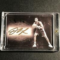 D'ANGELO RUSSELL 2015 PANINI NOIR BLACK AND WHITE AUTOGRAPH AUTO ROOKIE RC /60