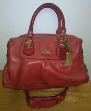 COACH 12937 Madison Sabrina leather handbag shoulderbag purse