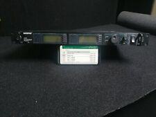 Shure UR4D H4 Dual Receiver (518-578 MHz)