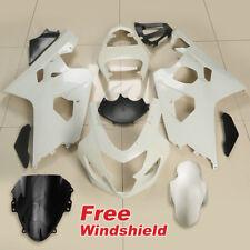 Unpainted ABS Fairing Bodywork Kit Fit For Suzuki GSXR600 GSXR750 2004-2005 K4