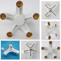 E27 Light Lamp Bulb Adapter Holder Converter Socket Base Splitter 3/4/5 in 1