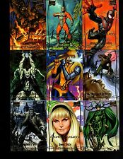 2016 Marvel Masterpieces Joe Jusko 285 card Master set no high number