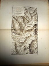 13 - CARTE MAP PLANS Campagne ITALIE 1745 & 1746 Camp ST GIACOMO ET LA NEVE 1775