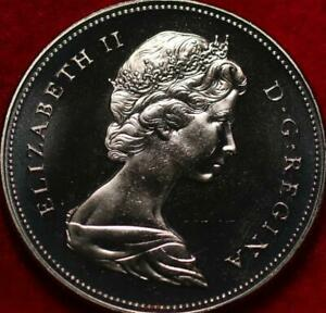 Uncirculated Proof 1970 Canada 50 Cents Clad Foreign Coin
