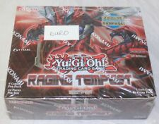Yugioh Raging Tempest 1st Edition 24-count Booster Box EURO Print