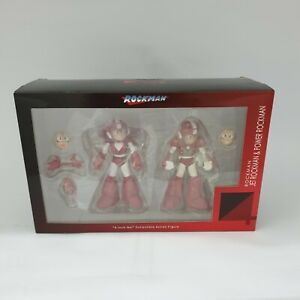 Sentinel Rockman Megaman Jet Rockman and Power Rockman Capcom 4inch Nel Figure