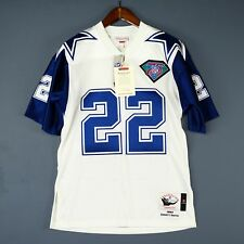 100% Authentic Emmitt Smith 94 Cowboys Mitchell Ness NFL Jersey Size L 44 Large