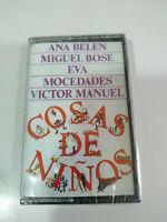 Dinge de niños Miguel Bose ana belen Mocedades - Tape Kassette Neue