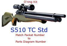 Air Arms O'ring Kit S510 TC STD