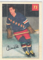 02/03 PARKHURST...CAMILLE HENRY...REPRINTS INSERT...CARD # 196...RANGERS