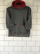 CHAMPION VINTAGE RETRO GREY BOLD 90'S SWEATSHIRT SWEATER HOODIE WOMENS UK 14 #1