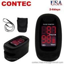 Fingertip Pulse Oximeter Instant Read Finger Blood Oxygen Spo2 Pr Monitor Led