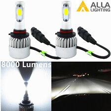 Alla Lighting LED Best Seller 6000K White 9006 Headlight Fog Light Bulb Convert
