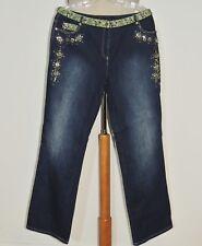 CHRISTINE PHILLIPE L'IMAGE Embellished Bejeweled Jeans w-  34