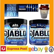 ANS Diablo 150g Superfruit Pro Thermogenic Fat Burner 60 Serves 2 Shredded