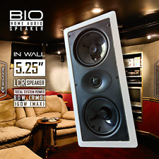 """CT Sounds Bio In Wall 5.25"""" LCR (Left Center Right) Home Theater Audio Speaker"""