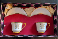 Antique Windsor Tea Set made in Carlsbad Czechoslavakia Karlovy Vary