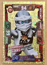 Lego Ninjago série 2 _ trading card game _ limitée le5 légendaire Zane