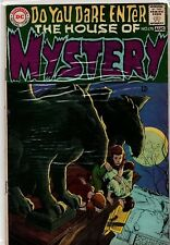HOUSE of MYSTERY #175 KEY 1st CAIN Silver DC Horror VG/F (5.0)