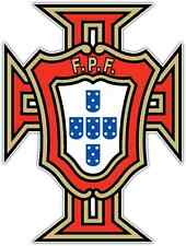 "Portuguese Football Federation Portugal Soccer Car Bumper Sticker Decal 4""X5"""
