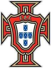 "Portuguese Football Federation Portugal Soccer Car Bumper Sticker Decal 4""X5"""