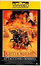 The Lighthorsemen Attacco nel Deserto (1987) VHS ViViVideo Jon Blake Peter Phelp
