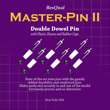 Dental Master Pin II - Double/Twin Pin with Plastic Sleeves - 1000/Box