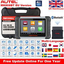 Autel MK808BT OBD2 Auto Diagnostic Tool Code Readers Upgrade MK808 MX808 MK808TS