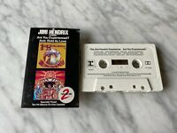The Jimi Hendrix Experience Axis: Bold As Love CASSETTE Tape 1982 Reprise RARE!