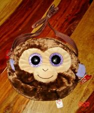 TY Coconut Monkey Plush Shoulder Bag BNWT