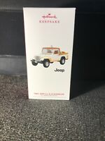 2019 Hallmark Keepsake Ornament 1982 JEEP SCRAMBLER