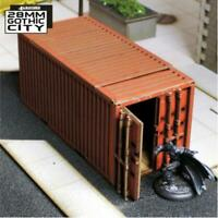 4Ground 28mm Gothic City Shipping Container A (Pre-Painted) Pack New